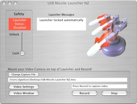 Missile Launcher Main Window